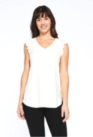 SLEEVELESS ROMANCE TOP