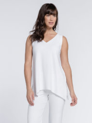 Sleeveless Go To Wide V-Neck T Relax