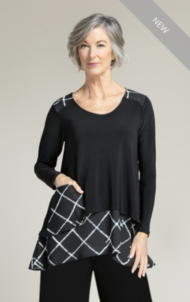 WHISPER POCKET TOP